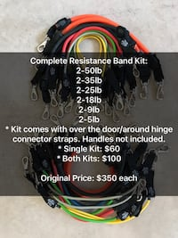 Complete Resistance Band Kits Chicago, 60625