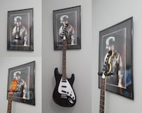 3D Guitar Wall Hangers  WASHINGTON