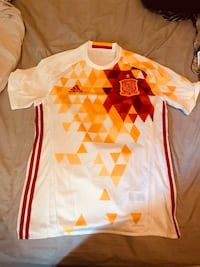 Alternate Spain World Cup Jersey (size large) Toronto, M4C 1L7