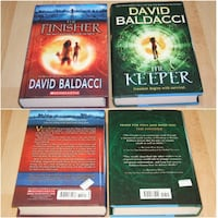 David Baldacci hard cover book lot Surrey