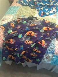 Halloween Medical Scrub top Lg.  NEW Elizabethtown, 42701