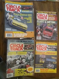Vintage 'Circle Track' Magazine Collection 80s-00s