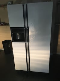 silver side-by-side refrigerator Cairo, 39827