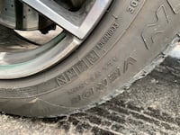 Mercedes GLC300 all season run flat tires Mississauga