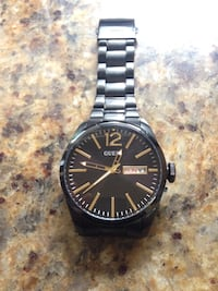 Guess Black Vertigo Watch (Black Dial) Surrey, V3R 4Y2