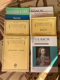 Piano Learning/Practice Books and Albums
