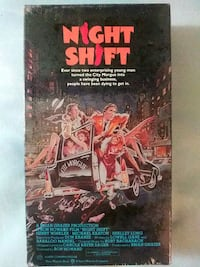 Night Shift vhs (New)