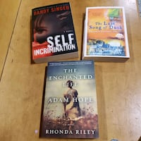 Good holiday read each for 3 $excellent condition Calgary, T2H 2Y5