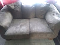 gray suede 2-seat sofa Frederick, 21703