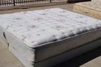 King Sealy Plush Mattress and Box Spring Used in Great Conditions-FREE DELIVERY!! El Paso, 79902