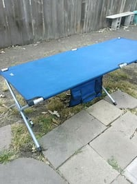 blue and white wooden table Wichita, 67211