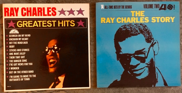 Ray Charles LPs records 1960s
