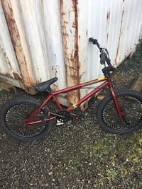 Red and black bmx bike Surrey, V4N 0B7