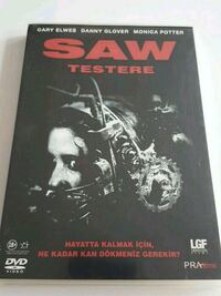 Saw 1 - Testere - Tiglon DVD
