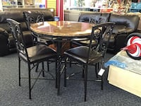 New Faux Marble Top Dining Set Virginia Beach, 23462