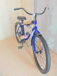 Bike 26 inch brand new shiny blue cruiser