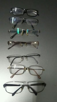 three black and brown framed eyeglasses Toronto, M1L 3E9