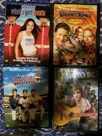 four assorted movie DVD cases Spokane Valley, 99037
