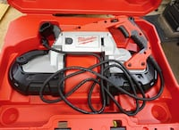 Milwaukee 6232-21 Deep Cut Variable Speed Band Saw with Case NEW. OPEN BOX. BOX WAS OPEN FOR INSPECTION. Baltimore, 21205