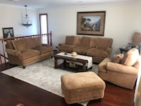 Couch, Sofas, Recliner, Ottoman. (4 pieces). New York, 10302
