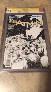 Cgc grade batman new 52 issue 1 Toronto
