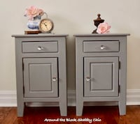 Pair of shabby chic nightstands Mississauga, L5G 2K4