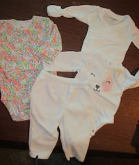 Girl's 3 month Clothes Lot