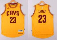 lebron james yellow basketball jersey  Hamilton, L8N 1X2