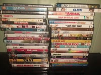 assorted DVD movie case lot Fort Myers, 33905