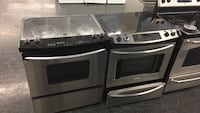 Slide in stoves - Glass top  Toronto, M3J 3K7