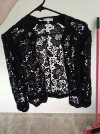 black and white floral cardigan Edmonton, T6W 1A8