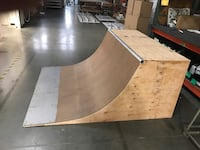 Quarter pipe for skateboarding BMX and scooters...