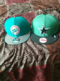 2 Snapback hat great condition selling both $20 Concord, 28027