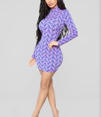 Printed mini dress Hamilton, L0R 1P0