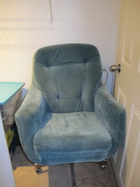 Blue Swivel chair TORONTO