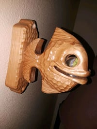 Carved wooden fish wall mount  Vancouver, 98682