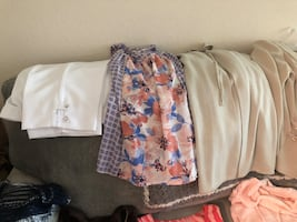 Women's clothing size large and extra-large