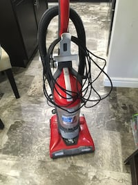 red and black upright vacuum cleaner Edmonton, T6W 3H9