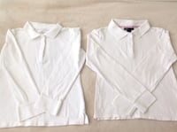 2 uniform white shirts long sleeves for girls from Gapkids & Old Navy in very good condition size 8 Hamilton, L8V 2K1