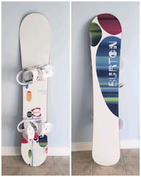 Burton Snowboard and Bindings  Vaughan, L4H 1X5