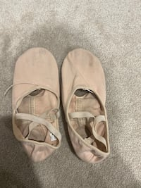 2 pairs of ballet shoes