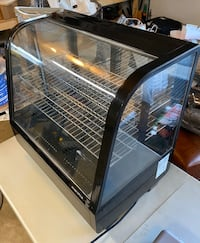 """Marchia MDC100 27"""" Refrigerated Countertop Bakery Display Case w/LED"""