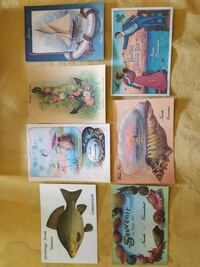 Niantic CT Souvenir Postcards, Art East Lyme, 06357