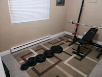 Olympic weight set. Langley City, V3A 2S5