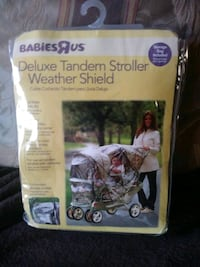Babies r us Tandem Strolker weather shield.new Johnson City