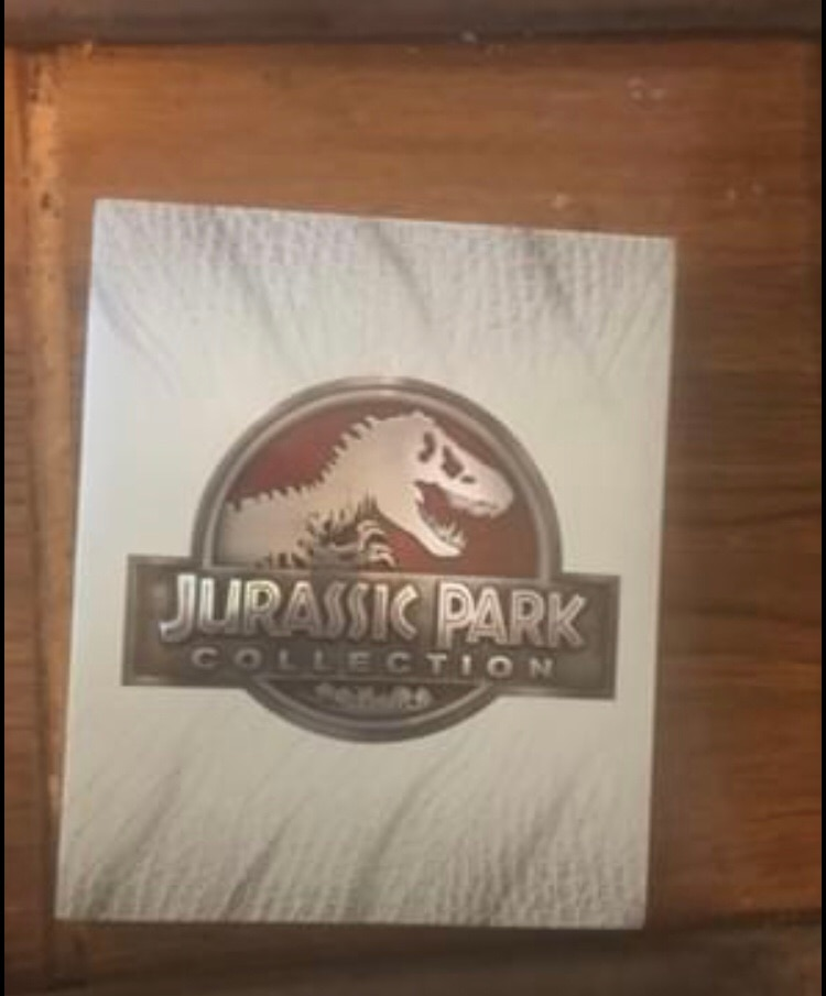 Photo Jurassic park blu ray collection