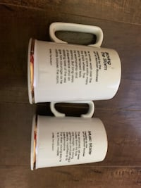 2 collector mugs
