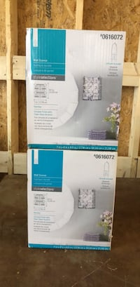 Brand new Wall sconces clear glass Colchester, 05446