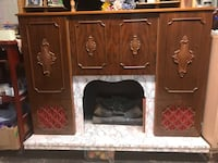 Mantel, Fireplace, Bar, Radio and Record player. Made by Koronette Co. of Germany Auburn Hills, 48326