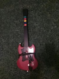 red guitar hero controller